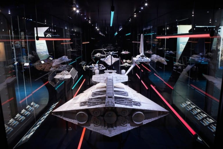 GSM project star wars exhibition