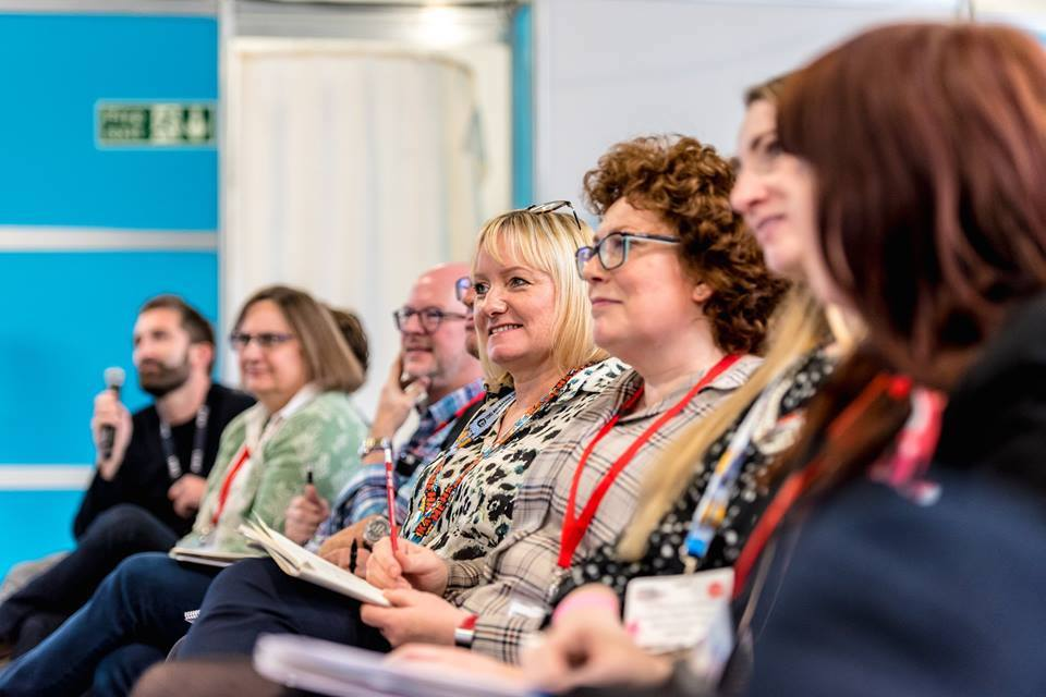 Guest in the audience at Brand Licensing Europe