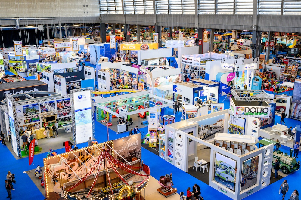 IAAPA Expo Europe 2019 review show floor