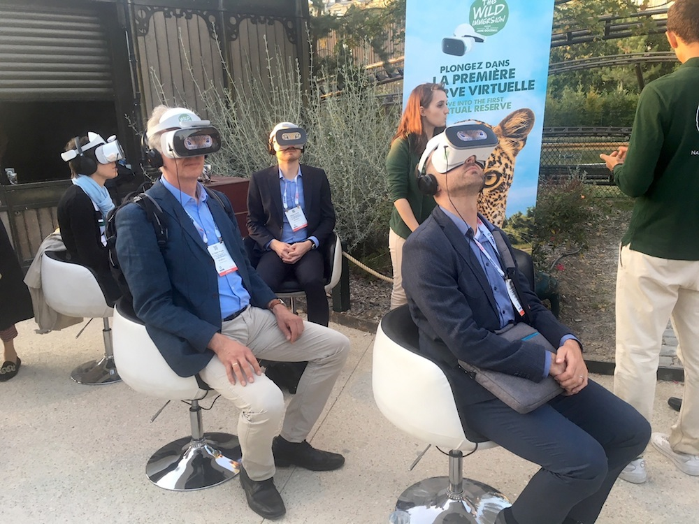 IAAPA Expo Europe 2019 review opening recpeption VR headsets
