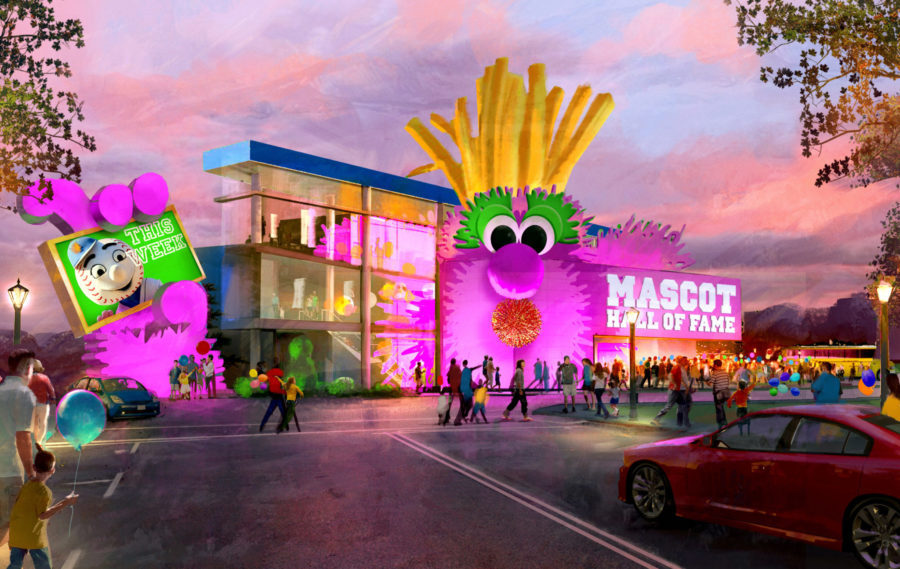 Mascot Hall of Fame Electrosonic brand story blooloop