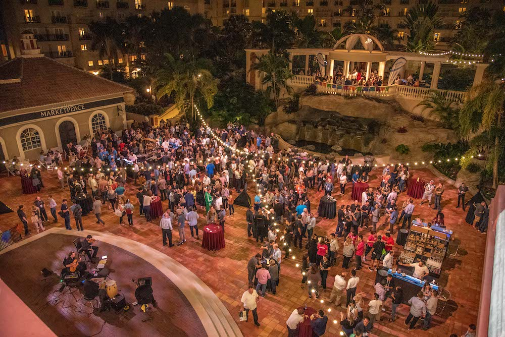 Guests enjoying the Arival Orlando party 2019