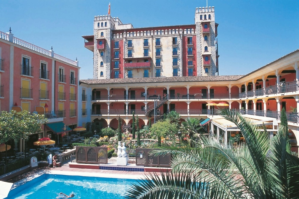 El Andaluz was the first hotel at Europa-Park when it opened in 1995