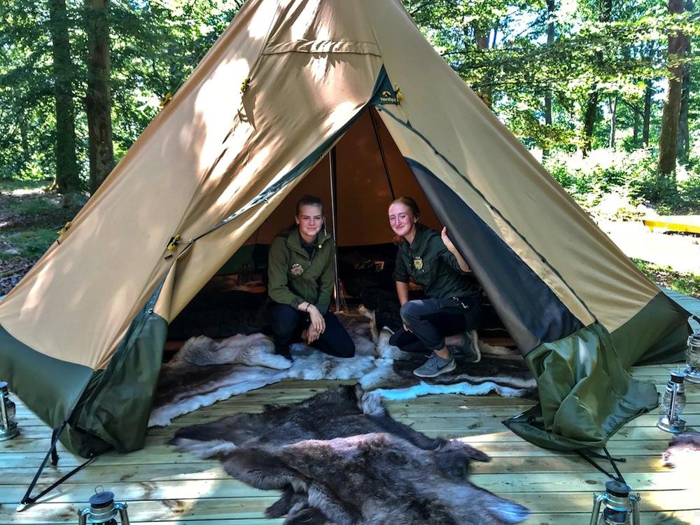 Lund Gruppen Skånes Djurpark Camp-oak