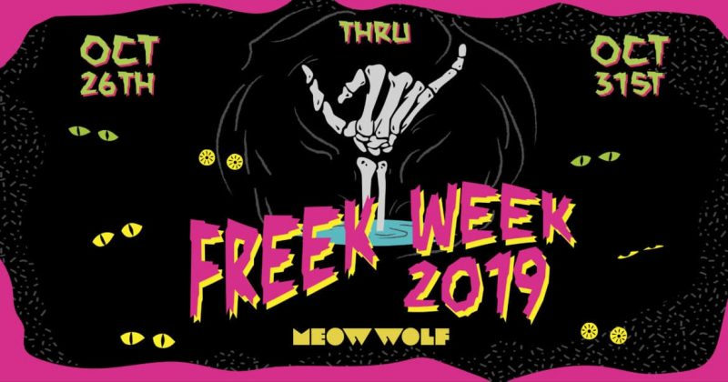 meow wolf freek week