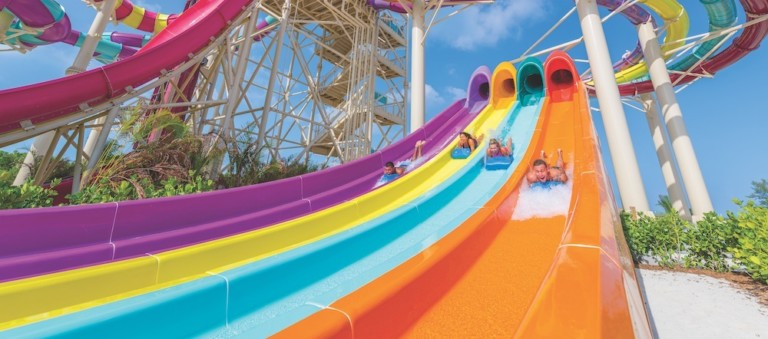 slides perfect day cococay cruises evolving into attractions