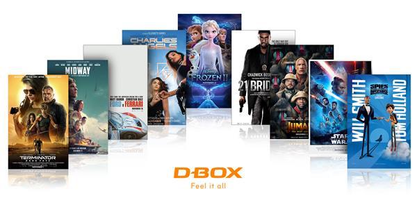 D-Box blockbusters