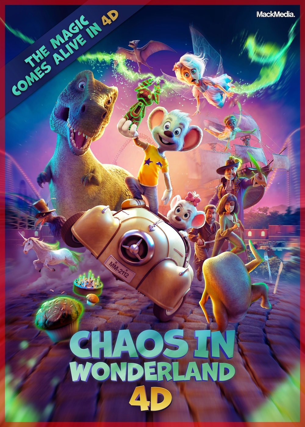 Michael Mack Animation 4D movies Holger Tappe