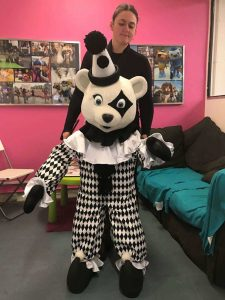 Pierrot Bear from Rainbow Productions