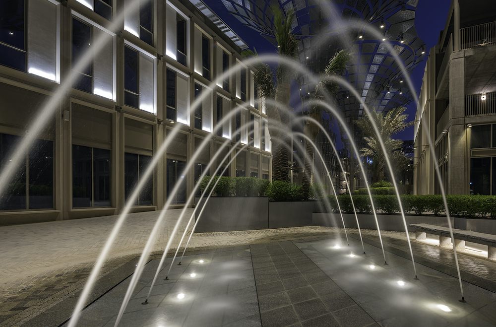 Water feature Expo 2020