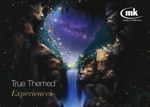 MK Themed Attractions - 2019 Inspiration Catalogue, Front cover
