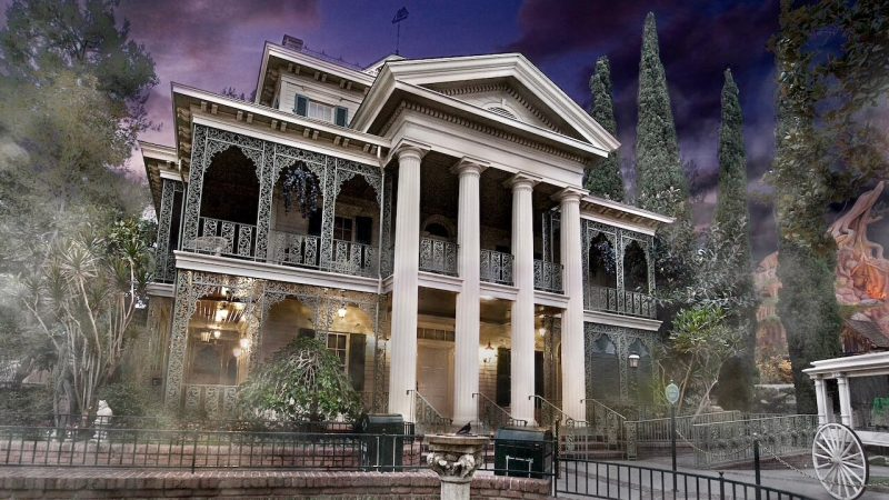 haunted mansion disneyland top theme park attractions
