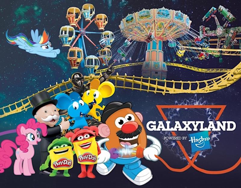 galaxyland powered by hasbro