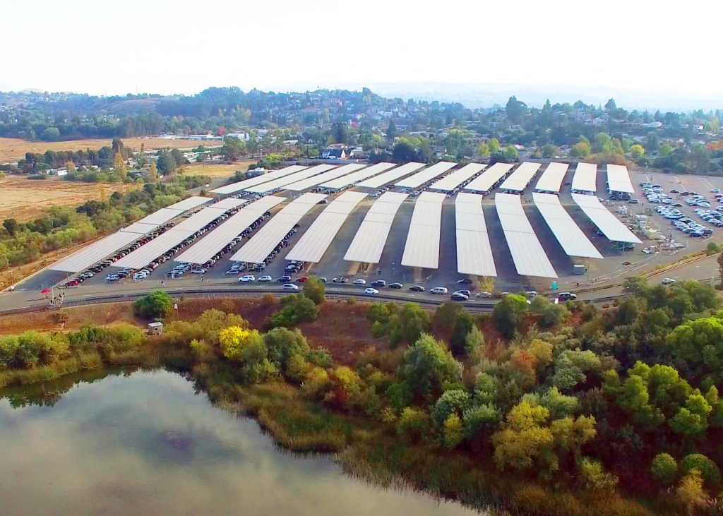 six flags discovery kingdom solar panels - environmental concerns could transform the LBE industry