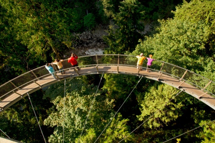 Gateway provides ticketing solutions at Capilano Suspension Bridge Park, Canada