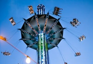 spinning carousel ride by FACE Amusement