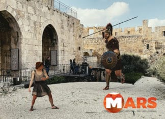 MARS mixed reality storytelling at Tower of David Musuem