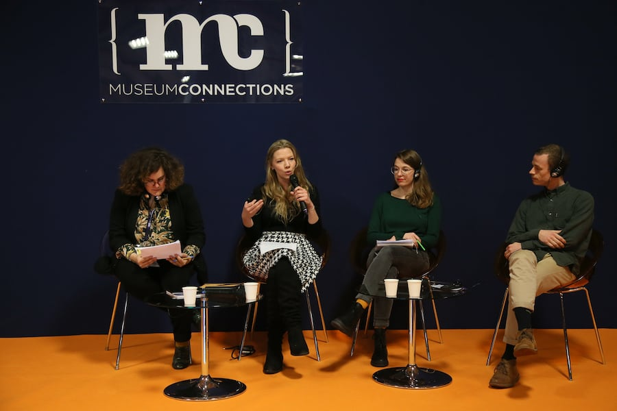panel of speakers at Museum Connections 2020