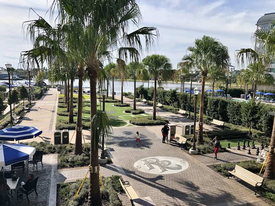 Promenade at Disney's Riviera Resort Disney Vacation Club