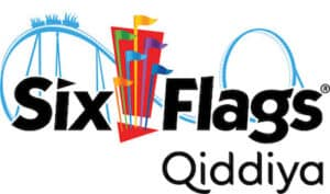Six Flags Qiddiya logo