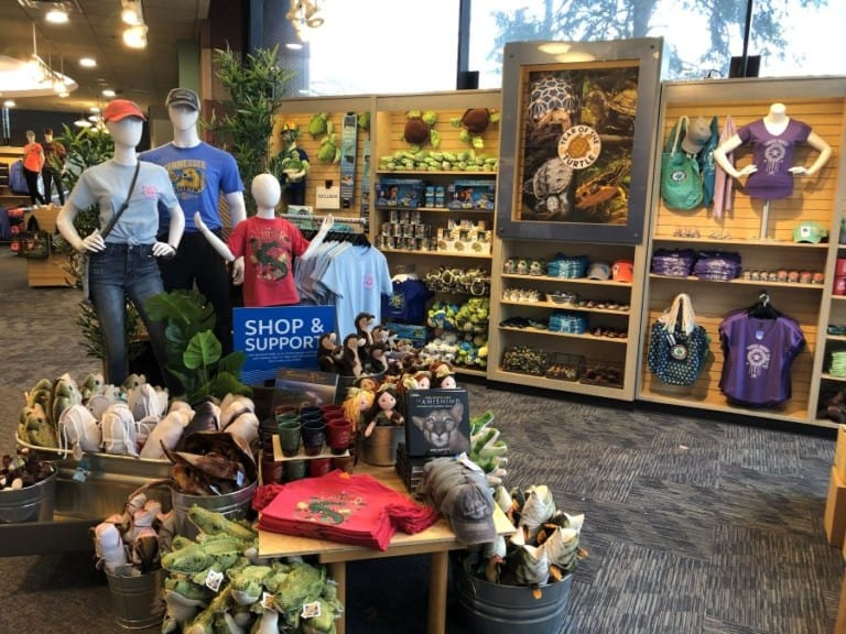 Interior of Tennessee Aquarium Store from Event Network
