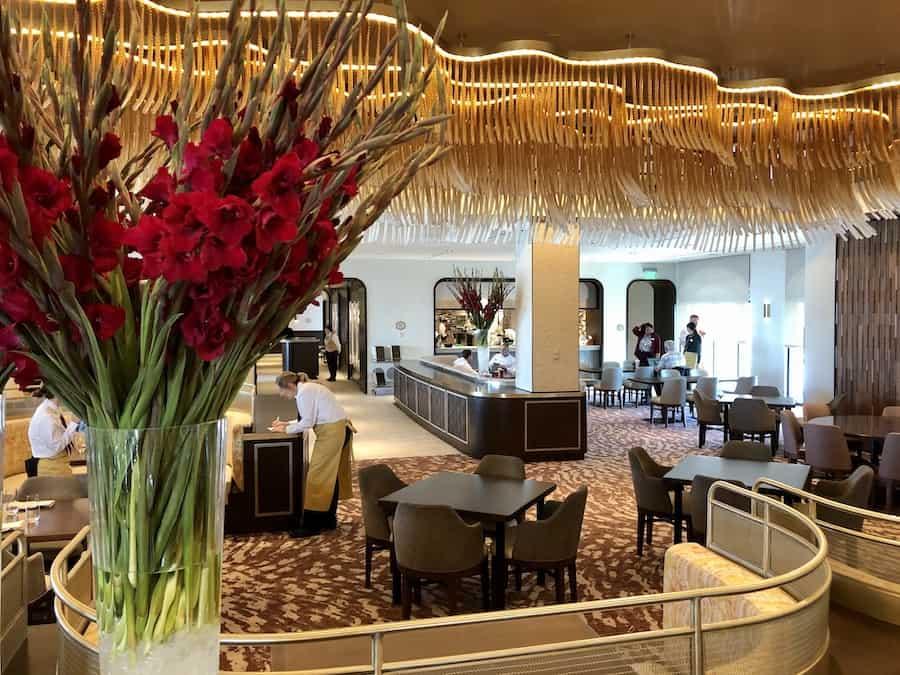 Topolino's Terrace at Disney's Riviera Resort, the newest Disney Vacation Club