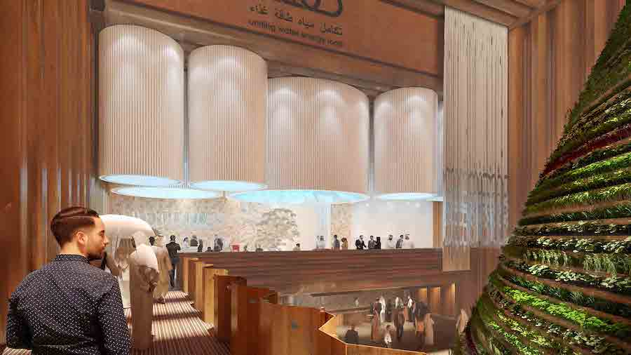 The Netherlands country pavilion at Expo 2020 Dubia