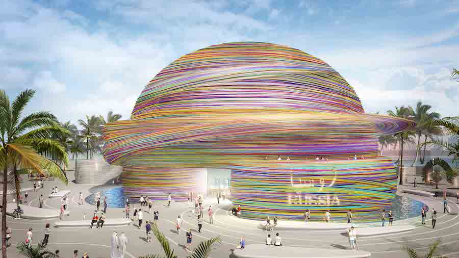 top Expo 2020 pavilions - Russia