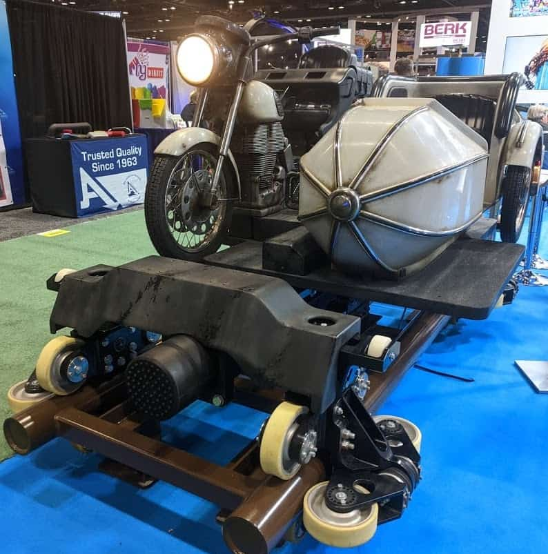 hagrid coaster vehicle by Intamin best themed roller coasters