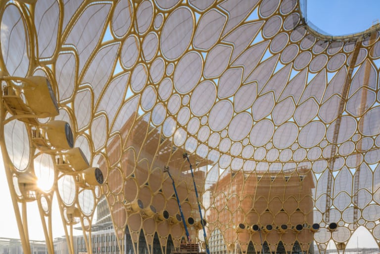 Al Wasl Plaza at Expo 2020 Dubai which is now postponed to 2021