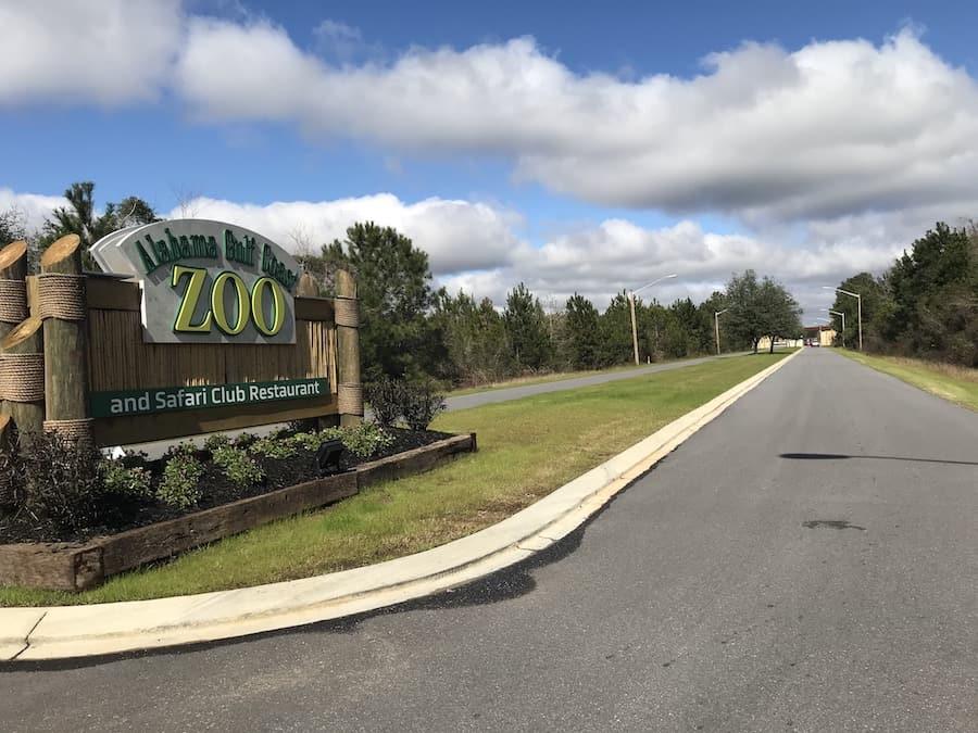 Alabama Gulf Coast Zoo Entry