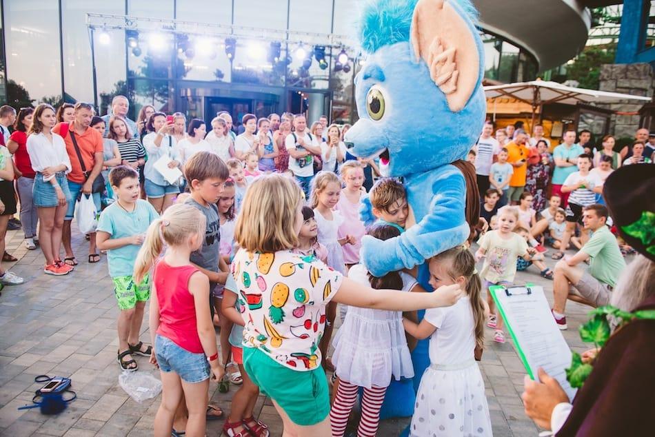Dreamwood theme park Mriya resort mascot
