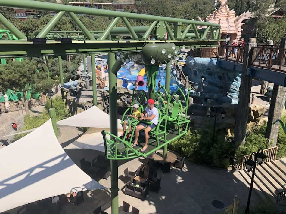 Dreamwood theme park Mriya resort suspended monorail