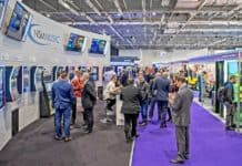 attendees enjoying the trade show floor at EAG International Expo 2020