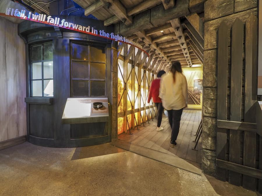 Electrosonic Niagara Falls Underground Railroad Heritage Center