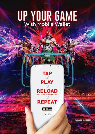 Advert for Embed's Mobile Wallet