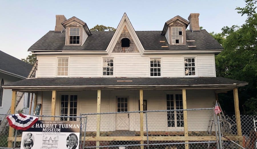 Future location of the Harriet Tubman Museum, Cape MAy