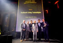 Kraftwerk Living Technologies wins Inavation Award for Magic Glaze 5D attraction