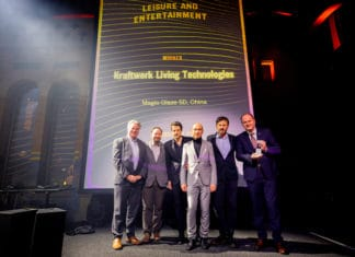 Kraftwerk Living Technologies wins Inavation Award for Magic Glaze 5D
