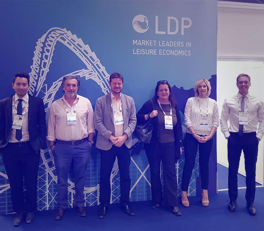 LDP team at IAAPA Expo Europe 2019