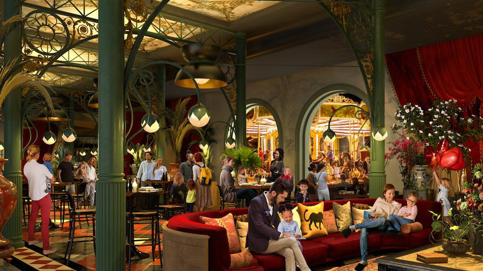 Liseberg Grand Curiosa Hotel restaurant. Andreas Andersen talks about his return to the park