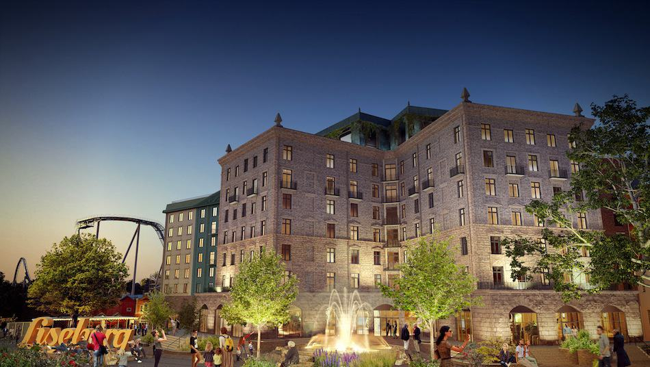 Andreas Andersen says Liseberg's Grand Curiosa Hotel is a key component of its expansion