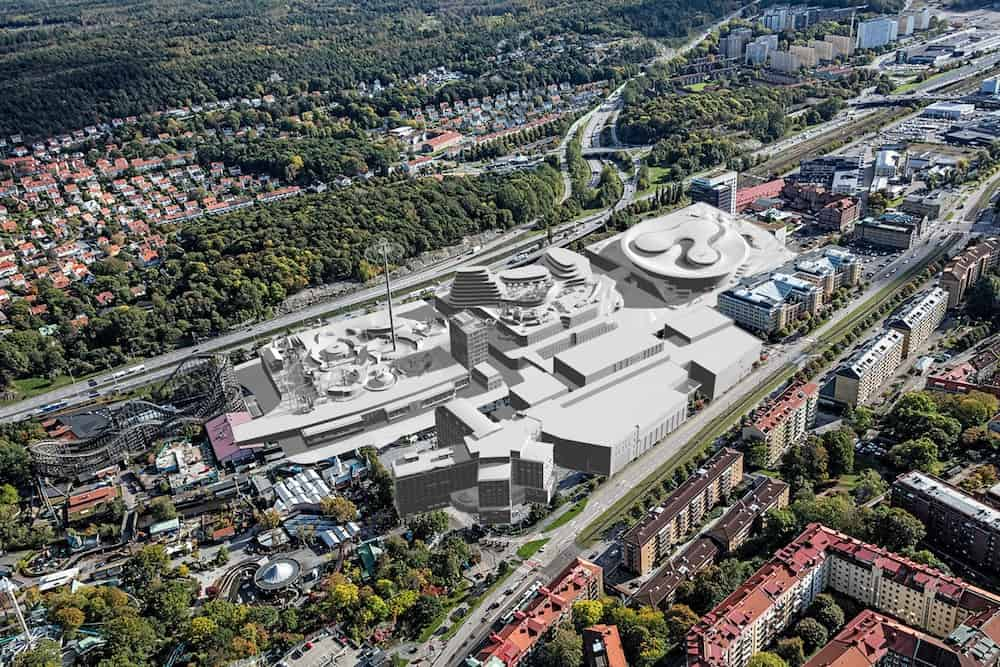 Volvo museum Liseberg expansion