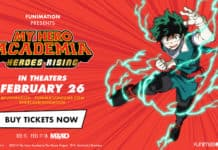 "MediaMation partners with Funimation Films to offer ""My Hero Academia: Heroes Rising"" in MX4D"