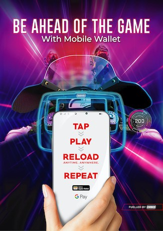 Be ahead of the game with Mobile Wallet, created by Andy Welsh