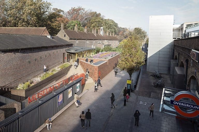 illustration of the redesigned Museum of the Home new museums 2021