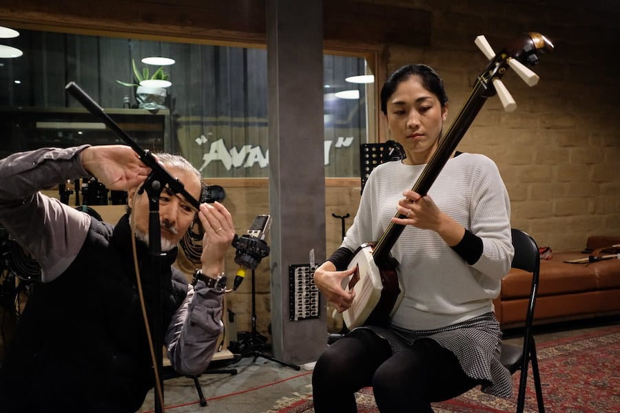 Noriko Tadano, one of the musicians behind the audio experience for Japan Supernatural at the Art Gallery of New South Wales, produced by Art Processors