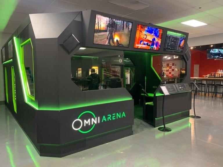 New Virtuix Omni Arena installation at Full Throttle in Cincinnati