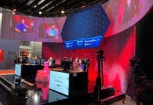 Panasonic esports booth at ISE