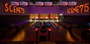 Bowling alley at Scene75